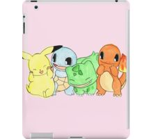 Hand Painted Pokemon iPad Case/Skin