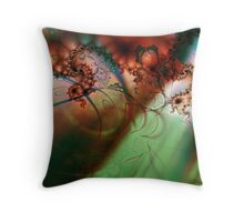 A Female Torso Throw Pillow