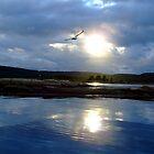 Norwegian Sunset by ViktoryiaN