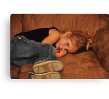 Full Out Pout ! Canvas Print