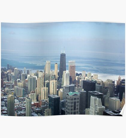 Chicago-From The Sears Tower Poster