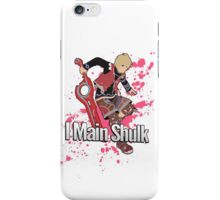 I Main Shulk - Super Smash Bros. iPhone Case/Skin