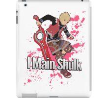I Main Shulk - Super Smash Bros. iPad Case/Skin
