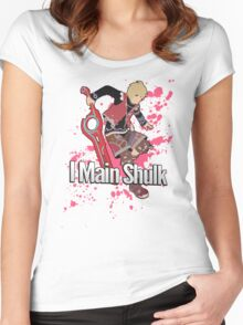 I Main Shulk - Super Smash Bros. Women's Fitted Scoop T-Shirt