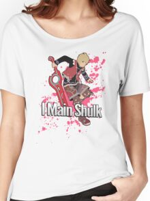 I Main Shulk - Super Smash Bros. Women's Relaxed Fit T-Shirt