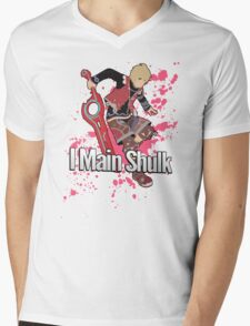 I Main Shulk - Super Smash Bros. Mens V-Neck T-Shirt