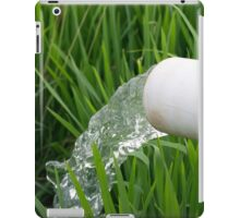 Water flowing iPad Case/Skin