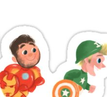 Superheroes Sticker