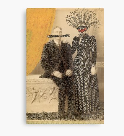 The Happy Couple Metal Print