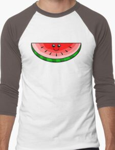 Cute Watermelon Men's Baseball ¾ T-Shirt