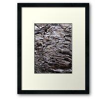 Rock of Dee Framed Print