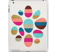 Color-Blocked Pebbles #2 iPad Case/Skin