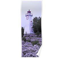Big Tub Lighthouse- Tobermory Ontario Poster