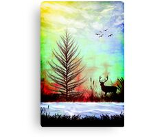 October Magic Canvas Print