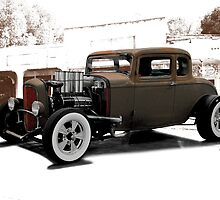 1932 Ford Coupe 'New Shoes' by DaveKoontz