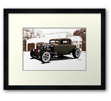 1932 Ford Coupe 'New Shoes' Framed Print