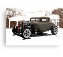 1932 Ford Coupe 'New Shoes' Metal Print