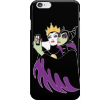 Grimhilde & Maleficent Selfie iPhone Case/Skin