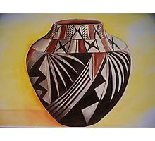 Indian pottery Photographic Print