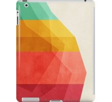 GeoDrop (Rainbow) iPad Case/Skin