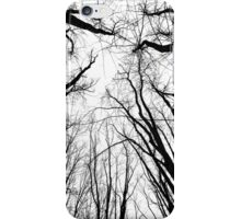 The Gathering - Winter Trees iPhone Case/Skin