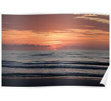Sunrise on the First Coast Poster