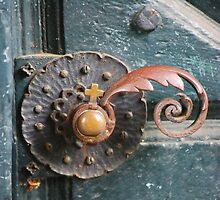 Old Church Door by Rowan  Lewgalon