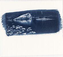 Carnarvon Cyanotype by Mushroomring