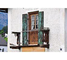Derelict Balcon Photographic Print