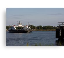 St. Johns River Ferry Canvas Print