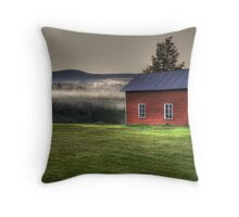 Barn in Upstate NY Throw Pillow