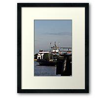 St.. Johns River Ferry Framed Print