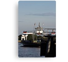 St.. Johns River Ferry Canvas Print