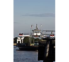 St.. Johns River Ferry Photographic Print