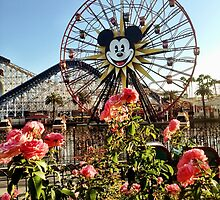 Fun Wheel Roses by dlr-wdw