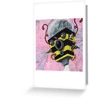 U.S.Bee ~~AmoeBot series Greeting Card