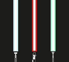 Original Trilogy Print by DanDeschaine