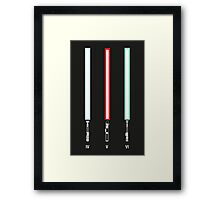 Original Trilogy Print Framed Print