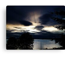 Light From Above Canvas Print