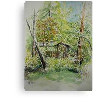Landscape Resarö Sweden Canvas Print