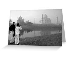 Mukesh Srivastava Capture The Taj Mahal Greeting Card