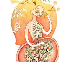 Seedling (Peach Pit)  by Amanda Prather