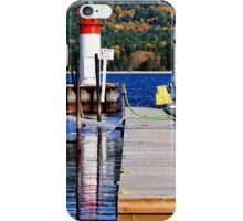 Fall lighthouse iPhone Case/Skin