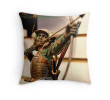 gift shop warrior Throw Pillow