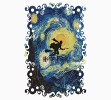 Halloween Flying Young Wizzard with broom Kids Clothes