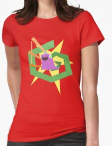 Rave-o-saurus Womens Fitted T-Shirt