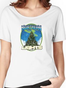 Northren Lights  Women's Relaxed Fit T-Shirt