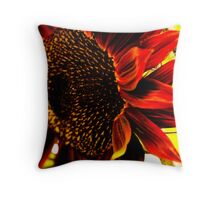 BrightSunflower Throw Pillow