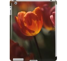 Backlit Tulip  iPad Case/Skin