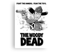 The Woody Dead Canvas Print